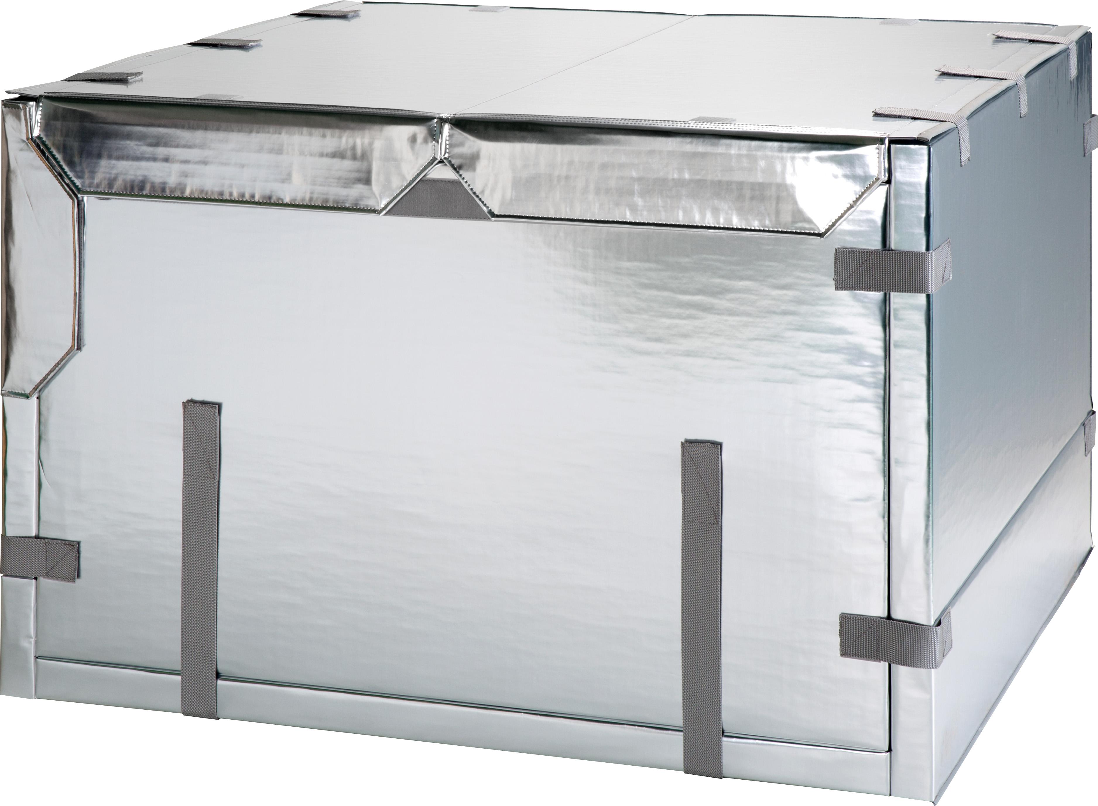 冷凍食品輸送ボックス