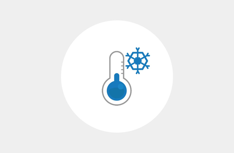 超冷凍で長時間キープを実現「-75℃以下を170時間キープ」
